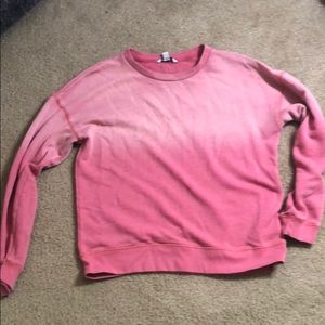 AE Pink Ombré sweater